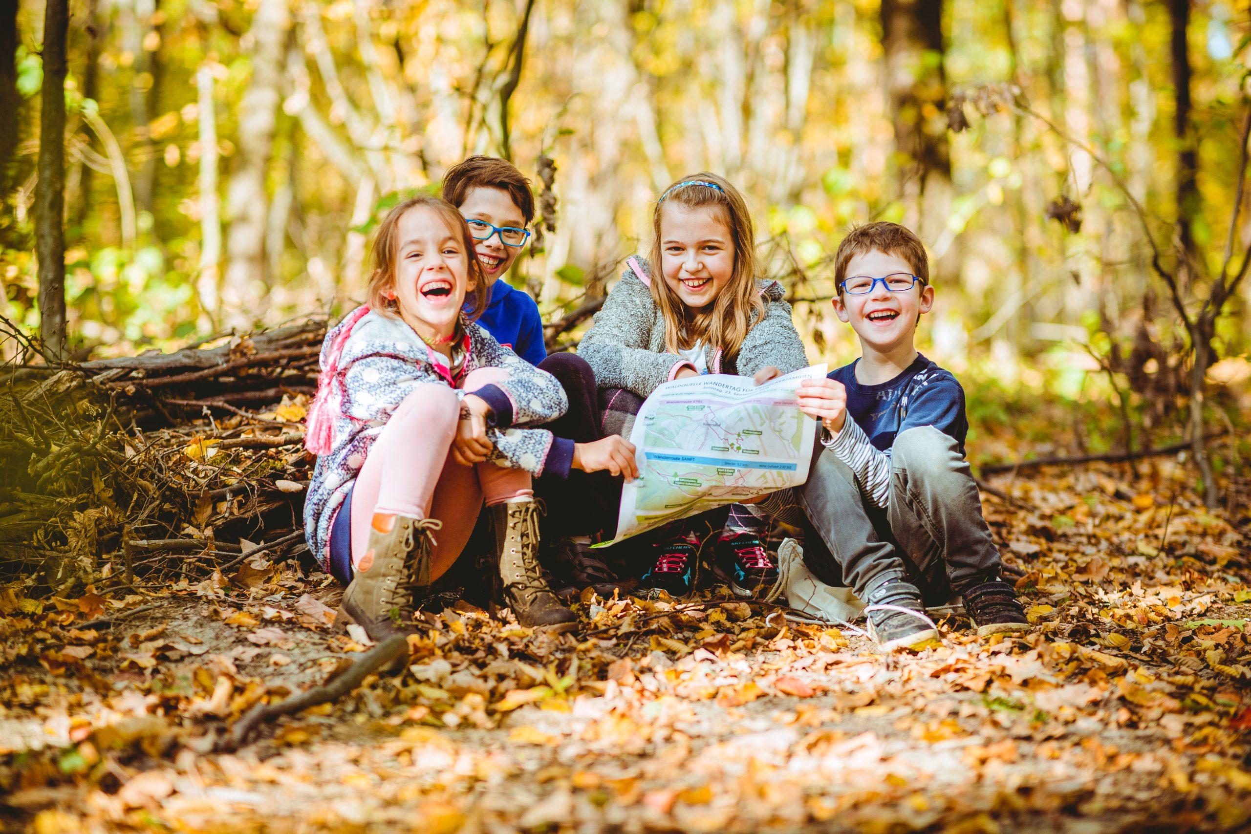 Waldquelle Familienwandertag